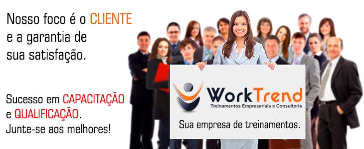 Capacitação e Qualificação é na WorkTrend